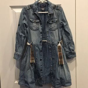 Ralph Lauren Girls Denim Dress Size 5